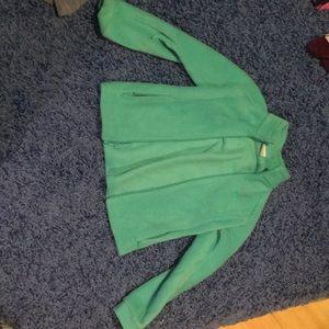 Teal nice quality Columbia sweatshirt